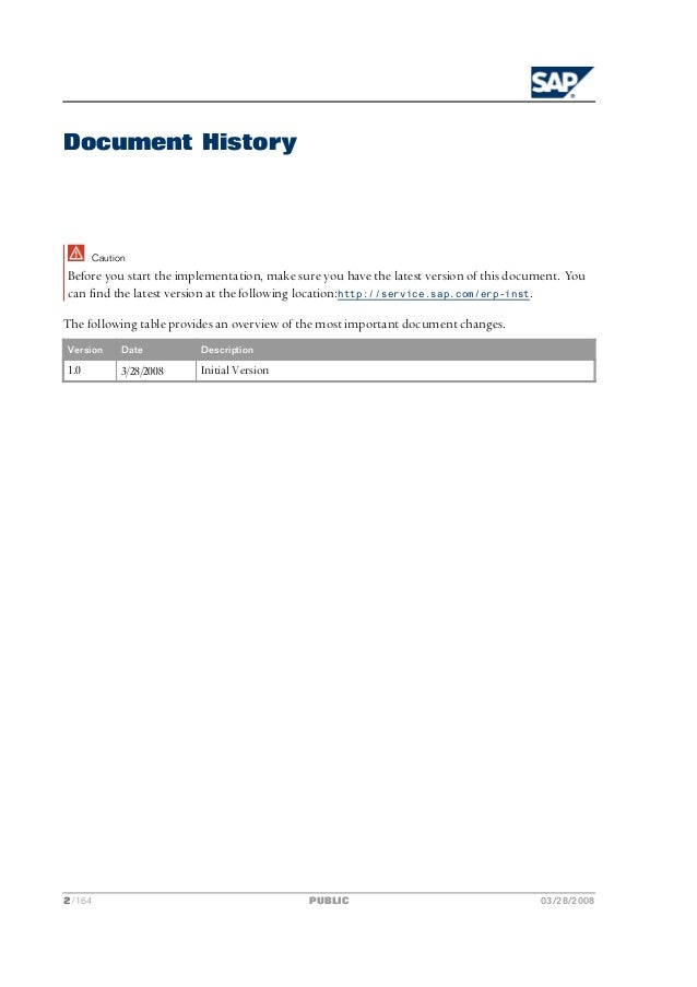 sap ecc 6.0 implementation guide