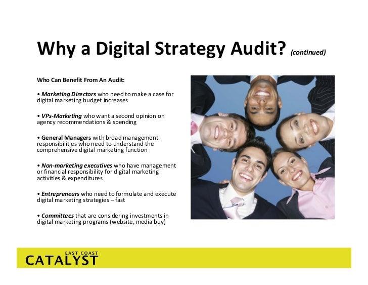 Marketing Plan Audit