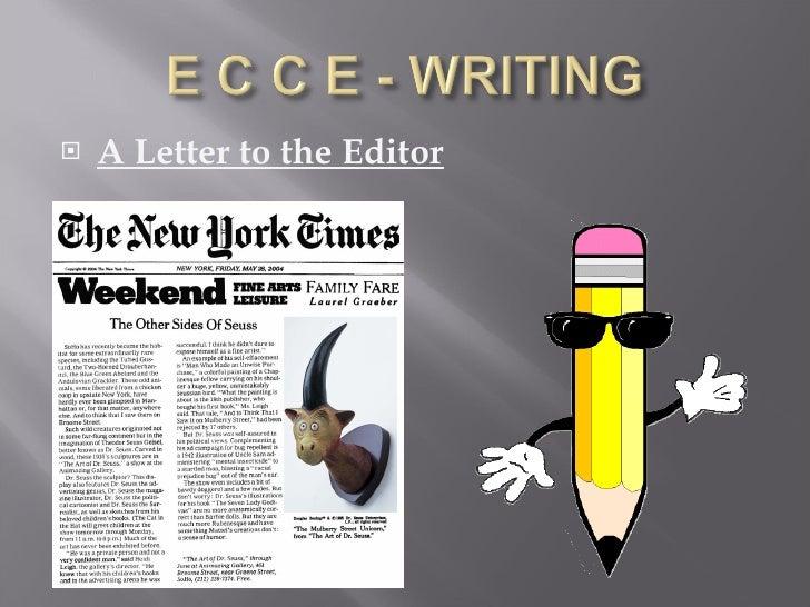 <ul><li>A Letter to the Editor </li></ul>