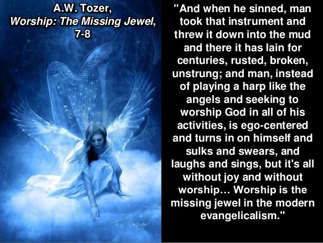 worship the missing jewel by a.s tozer pdf