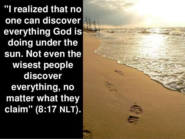 Image result for Eccl. 8:16-17