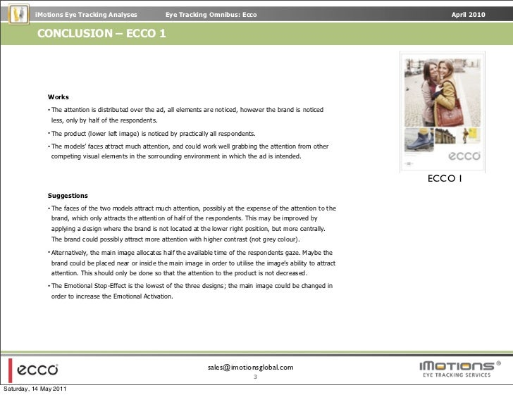 ecco case study Ecco case study case study ecco case study and over other 29,000+ free term papers, essays and research papers examples are available on the website autor: people • july 14, 2011 • case study • 369 words (2 pages) • 1,575 views page 1 of 2 executive summary.