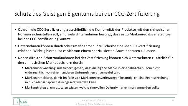 ccc zertifikat