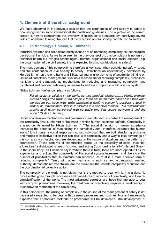 17 4. Elements  of  theoretical  background   We have observed in the previous section that the contribution of ci...