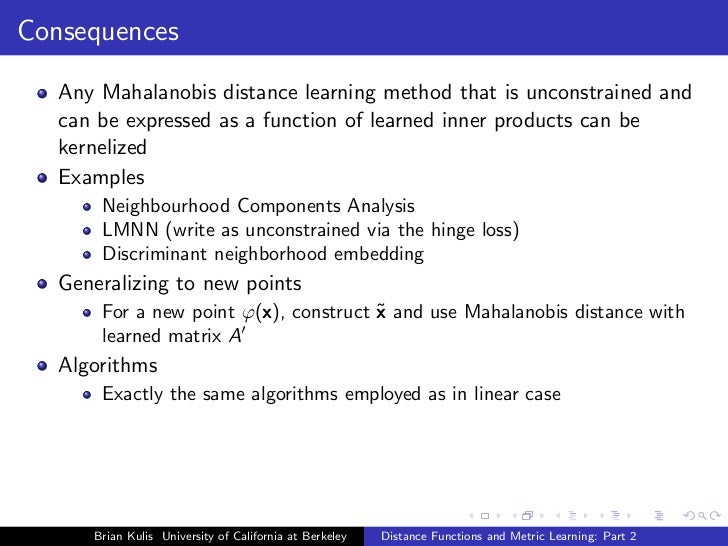ECCV2010: distance function and metric learning part 2