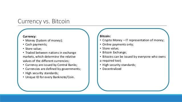 Bitcoin standards development