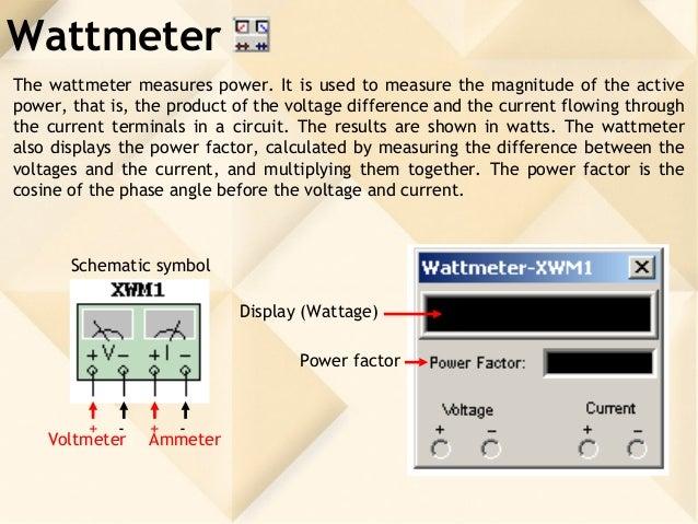 Pretty Watt Meter Symbol Ideas - Simple Wiring Diagram Images ...