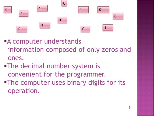Basics of digital electronics Slide 3
