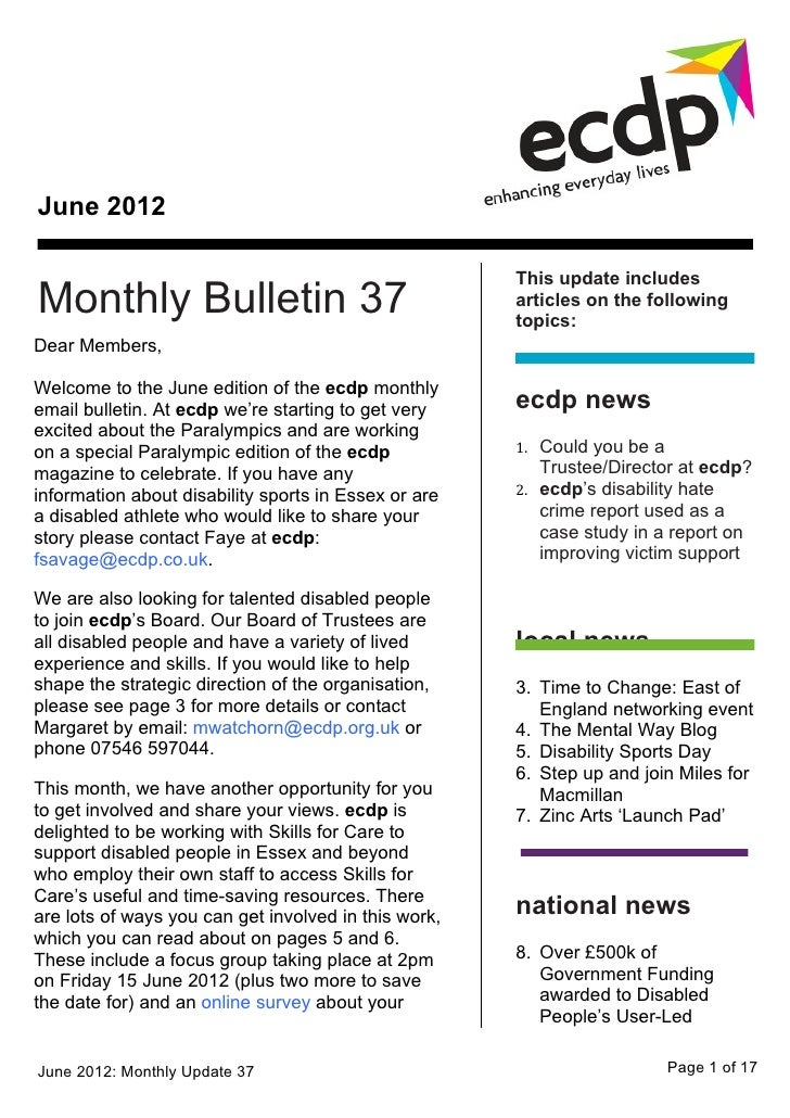 June 2012                                                      This update includesMonthly Bulletin 37                    ...
