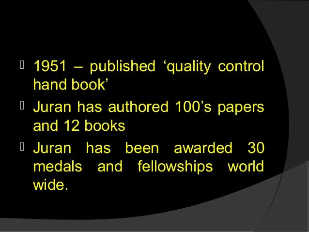 Total quality management assignment juran trilogy! Can i write an essay on my ipad