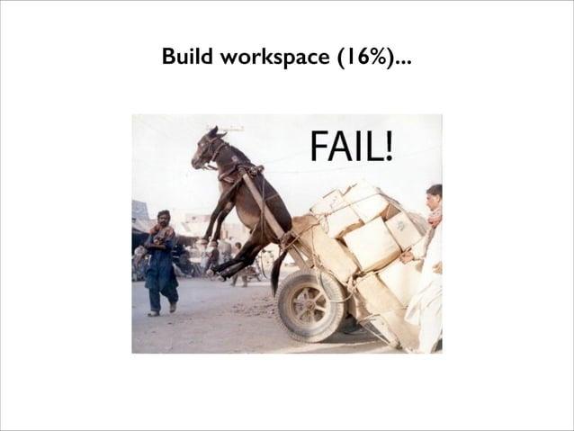 Build workspace (16%)...