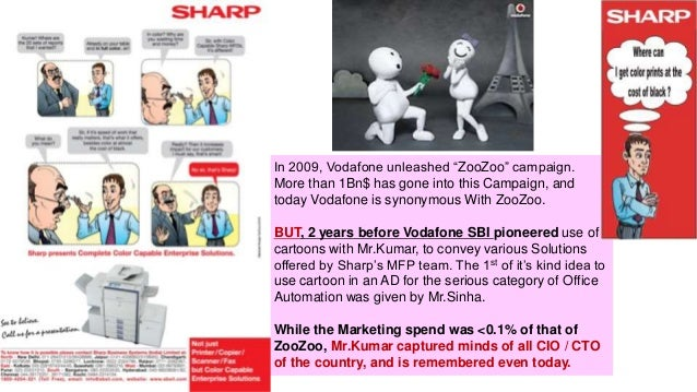 """In 2009, Vodafone unleashed """"ZooZoo"""" campaign. More than 1Bn$ has gone into this Campaign, and today Vodafone is synonymou..."""