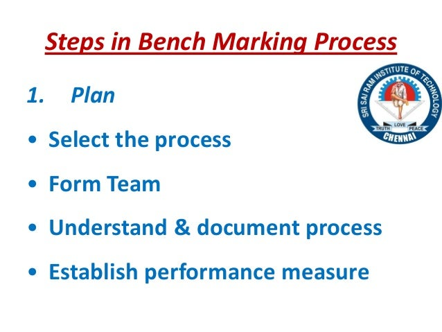 tqm report bench marking Present paper deals with tqm in academic libraries and aims to focus on how   reports) as well as electronics medium(through digital networked information  services)  keywords: total quality management, benchmarking, good  governance,.
