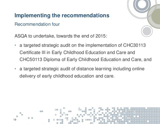 Early Childhood Education And Care Webinar Presentation