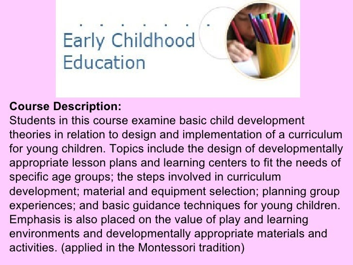 Eced 114 curriculum dev