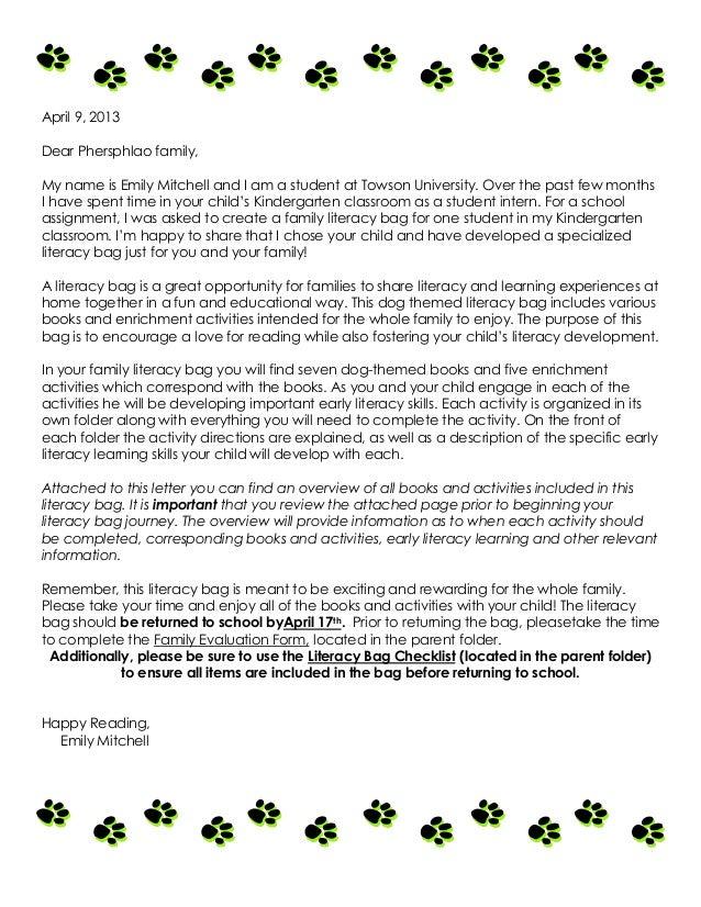 Teacher Introduction Letter To Parents Sample Gumus