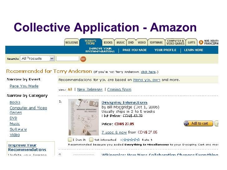Collective Application - Amazon