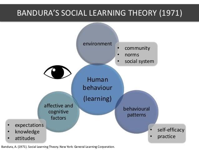 social learning theory bandura 1971