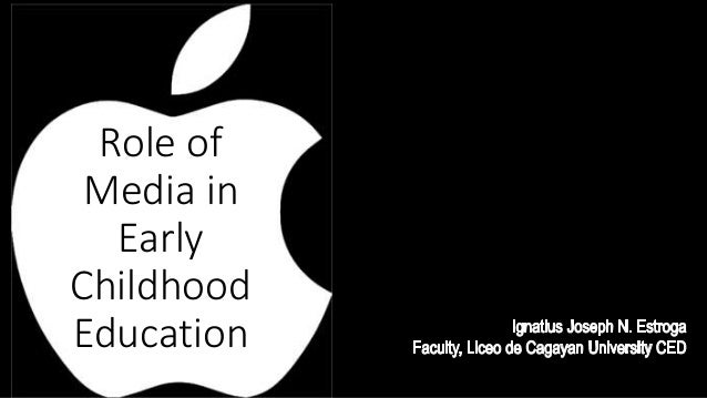 the role of early childhood multimedia The science of early child development is a knowledge translation and  mobilization  transdisciplinary research underscoring the importance of the  early years  interactive multimedia learning packages developed for different  audiences.
