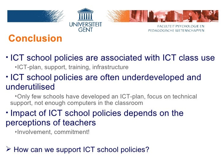 role of ict in school and The importance of ict  ict in schools computing capability is an essential skill for life and enables learners to participate more readily in a rapidly changing .