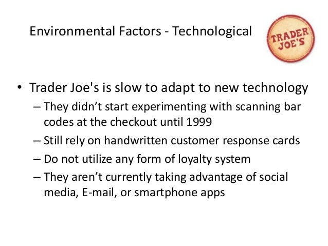 perform environmental scanning at whole foods This paper defines environmental scanning, discusses its component parts and talks about issues related to its implememtnation in institutions of higher education.