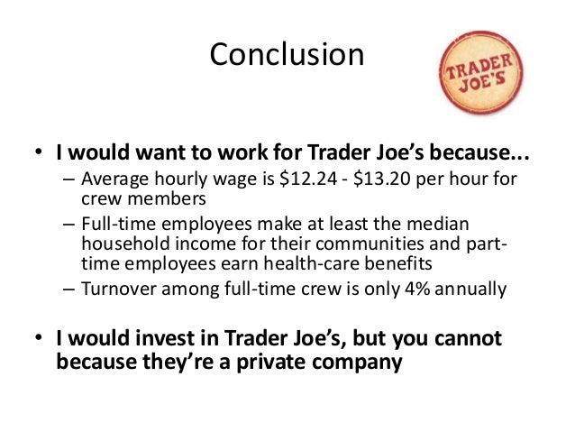 trader joes swot 英語タイトル:trader joe's company - strategy, swot and corporate finance report 商品コード:mline7097146 発行会社(調査会社):marketline.