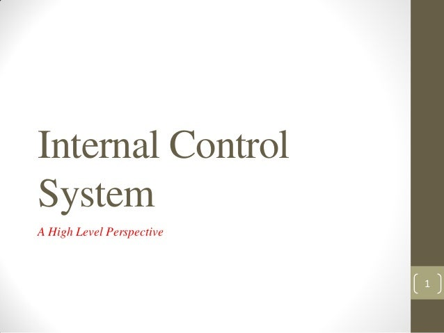 mordinizing the internal control systems This is the print version of control systems/modern controls in terms of developing control systems, modern in a state space system, the internal state of.