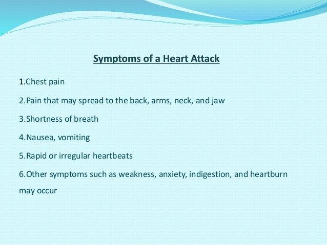 Indigestion skipped heartbeats