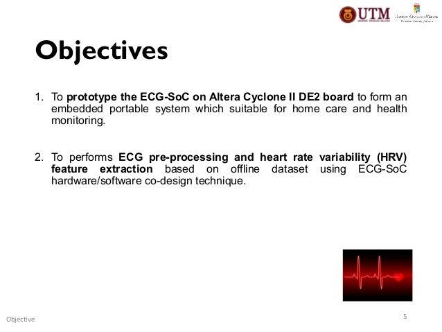 FPGA Design and Implementation of Electrocardiogram