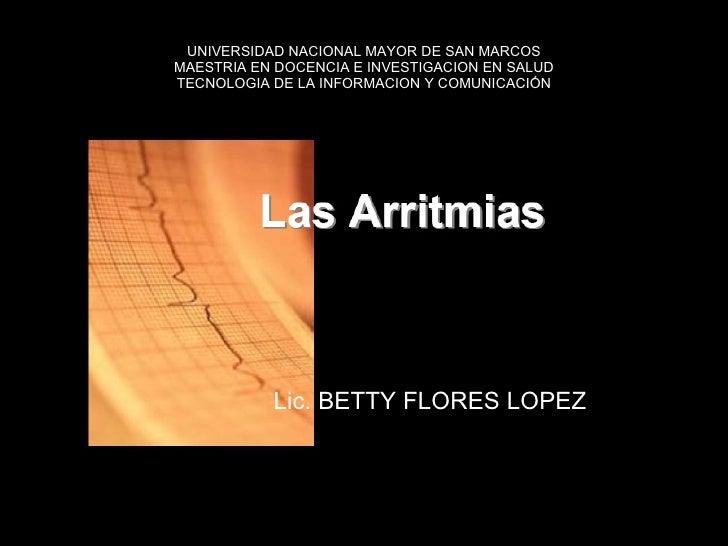 UNIVERSIDAD NACIONAL MAYOR DE SAN MARCOS MAESTRIA EN DOCENCIA E INVESTIGACION EN SALUD TECNOLOGIA DE LA INFORMACION Y COMU...