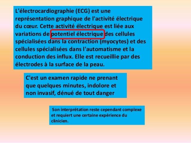 ECG formation accélérée Slide 3
