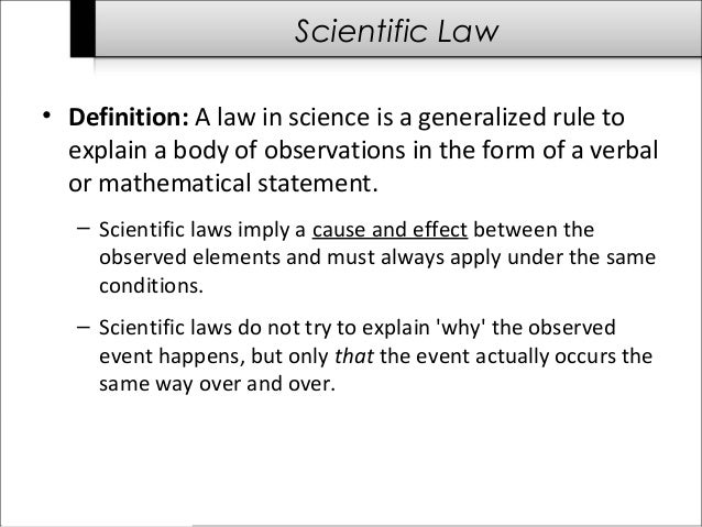 Law Of Natural Selection Definition