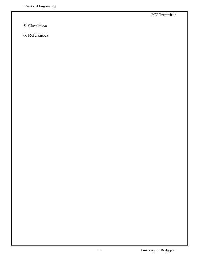 ecg transmitter report