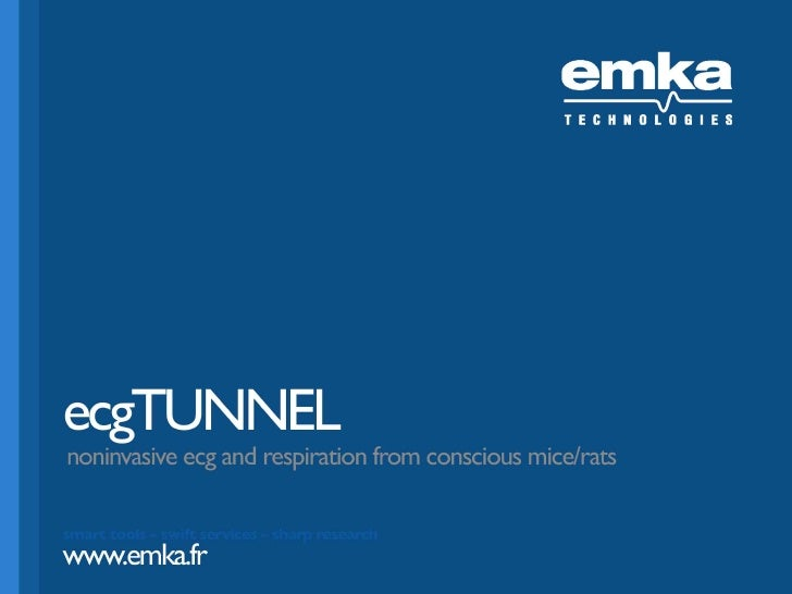 ecgTUNNEL noninvasive ecg and respiration from conscious rats/mice/rodents