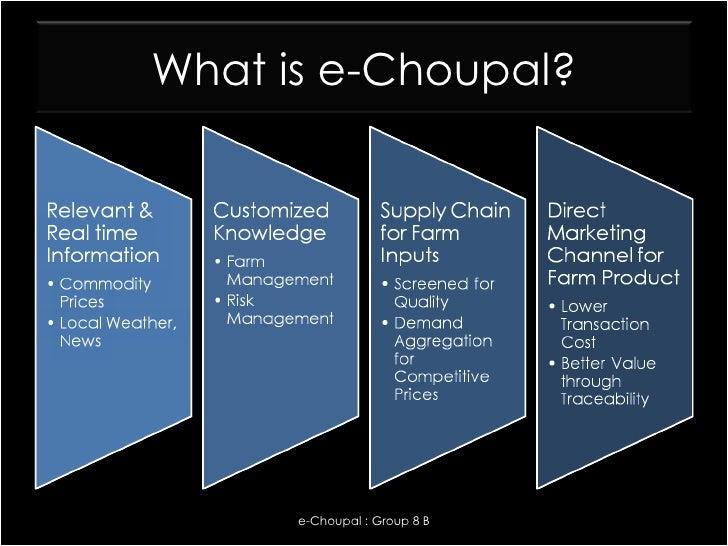 e-choupal case study ppt