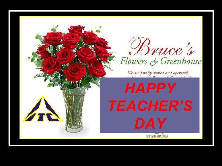HAPPY TEACHER'S DAY
