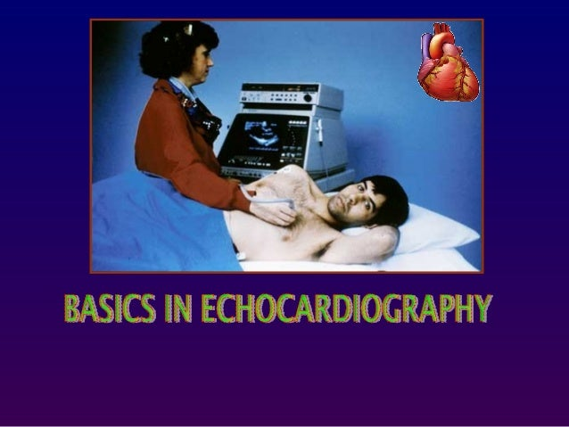 Echocardiography is simply an ultrasound examination of the heart.During the examination, various different ultrasound mod...