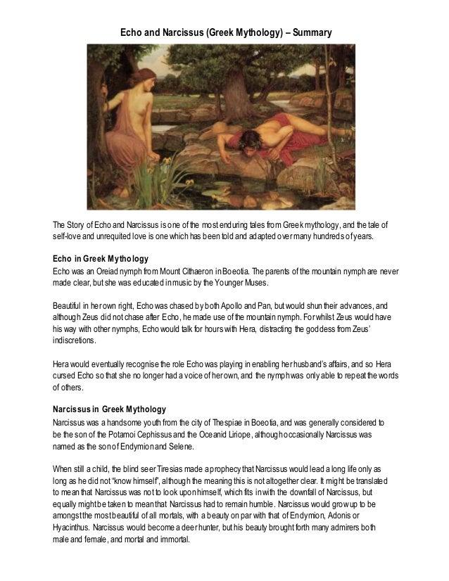 summary of greek mythology stories