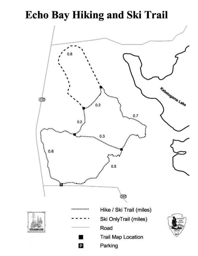 NostalgicOutdoors™- Voyageurs National Park- Echo Bay Hiking & Ski Trail