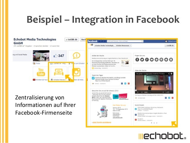 Echobot newsroom der online pressespiegel f r ihre homepage for Spiegel homepage