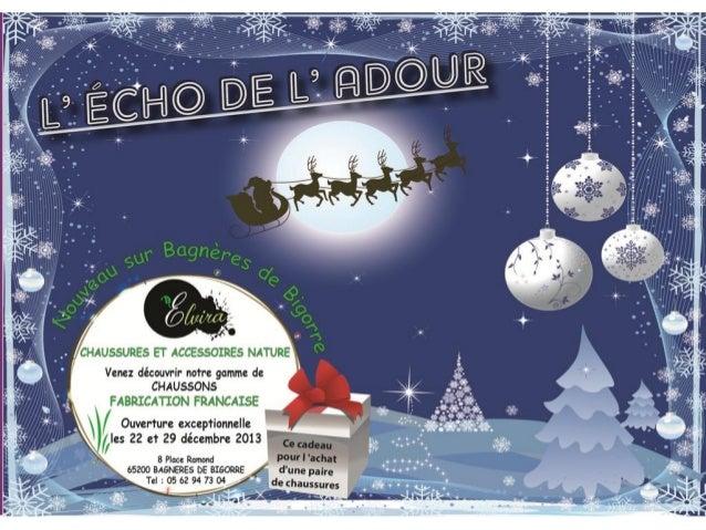Echo de l'adour novembre   décembre