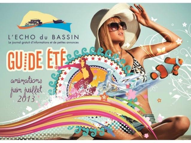 Echo du Bassin Juin-Juillet