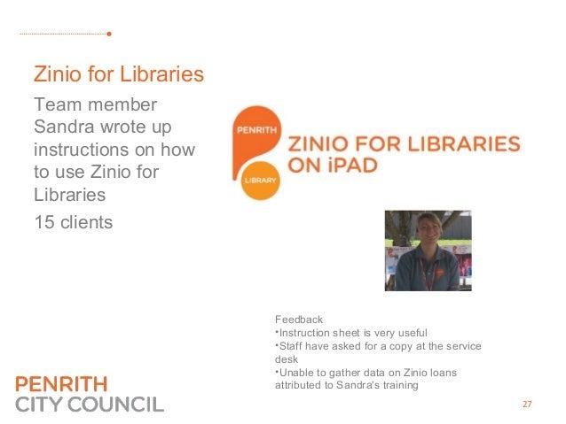 Penrith City Library ECHO (E-Connect Home-Library Outreach)