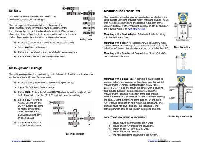 EchoSafe® XP88-89 Ultrasonic Level Transmitter - Flowline