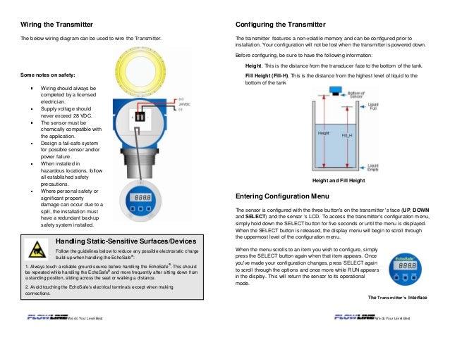 echosafe® xp88 89 ultrasonic level transmitter flowline setting fill height stand pipe mounting 4