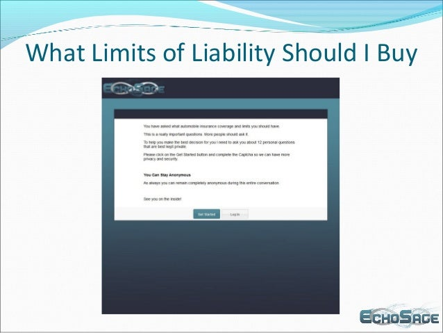 What Limits of Liability Should I Buy