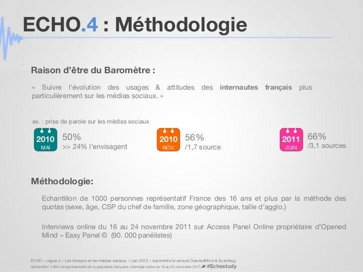 """Baromètre ECHO vague 4 : parcours d'achat et """"Moments Of Truth"""" Slide 2"""