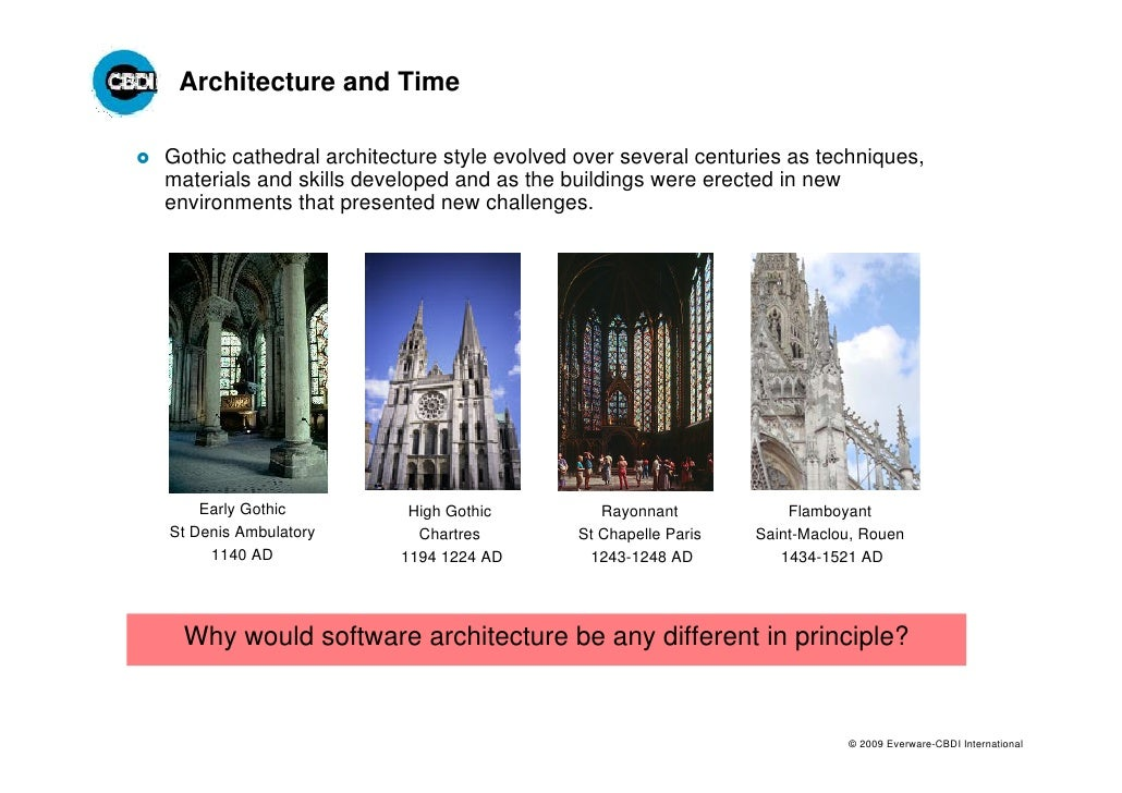 Eci service architecture evolution 1 for Architecture evolutive