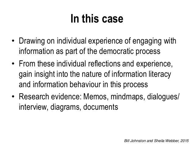 an exploration of individualism as described An exploration of narrative as a research method abstract narrative derives from a long history of literary tradition and is increasingly used as a research method narrative in essence is.