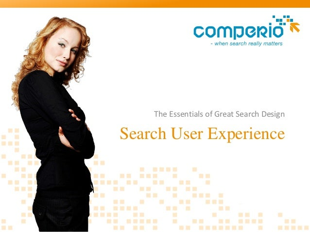 The Essentials of Great Search DesignSearch User Experience
